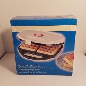 New Belgian Waffle Maker